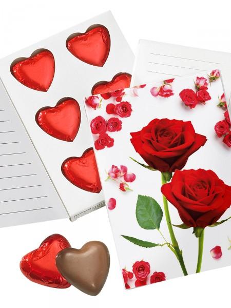 "Grußkarte ""Süße Rose"""
