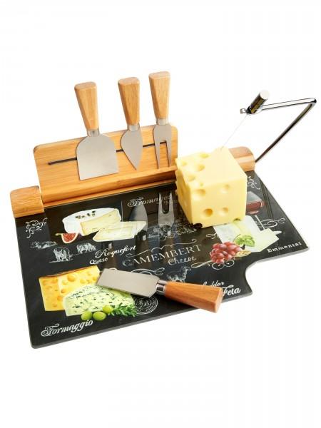 Käse-Servierplatte, 5-tlg.