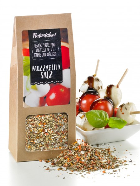 Mozzarella-Salz