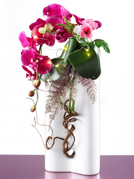 LED Orchideenvase