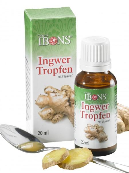 Ingwer-Tropfen