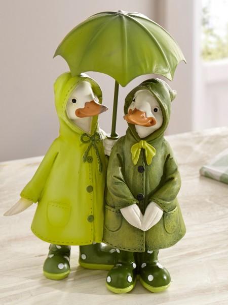 """Entenpaar """"Regenschauer"""""""