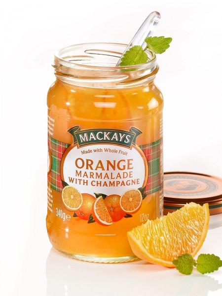 Orange-Champagner-Marmelade