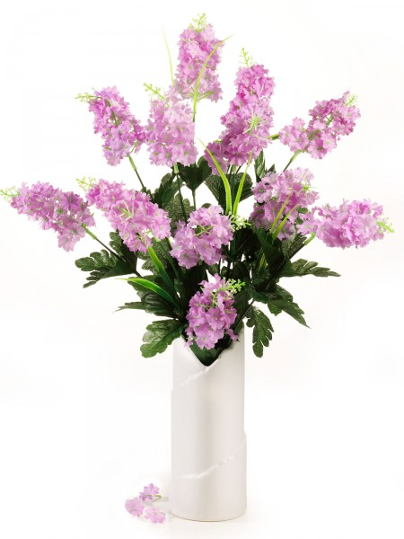 """Vase """"Fliederstrauß"""""""