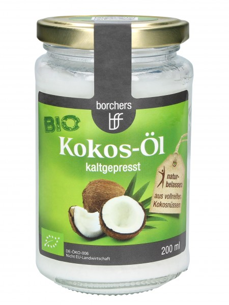 Kokos-Öl, Bio