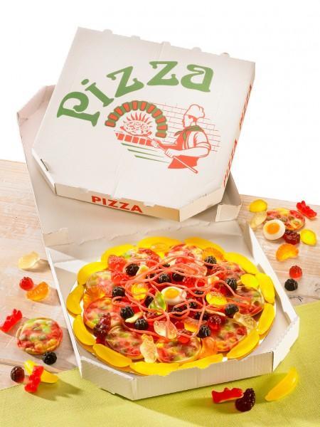 Fruchtgummi-Pizza